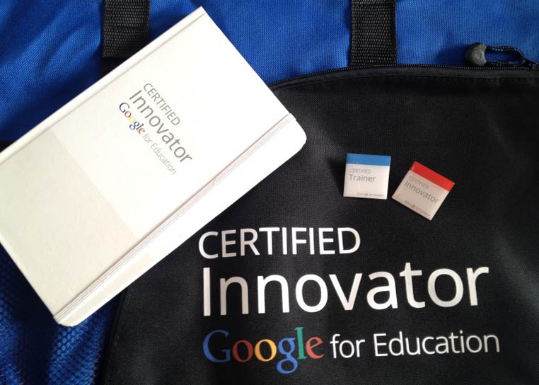 Google Innovator and Google Trainer Badges